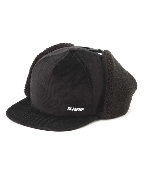 631319ee XLARGE,CORDUROY EAR FLAP CAP - WEAR