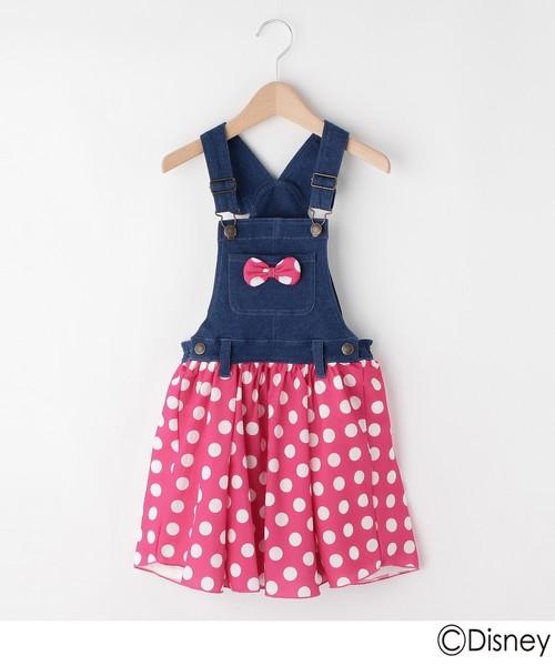 02825e6169e99 Disney(ディズニー)の「ジャンパースカート(ミニーマウス)(ワンピース)」 - WEAR