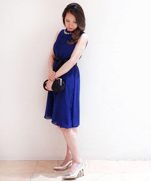 edfef5da1c76c Jines(ジネス)の「ビジュー襟 ワンピース  結婚式・二次会・パーティードレス (ドレス)」 - WEAR