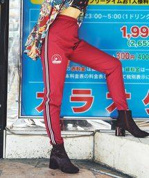 STAR CIRCLE WOMAN プリント トラックパンツ