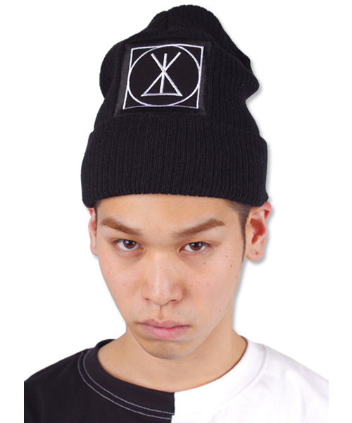 7bd73c4f7437b6 BOY LONDON,【LONG CLOTHING】Long ICON Beanie-Large,Small Patch- - WEAR