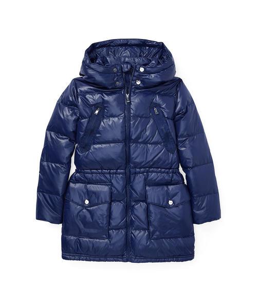 c4a56fbd56334 Polo Ralph Lauren Childrenswear(ポロ キッズ)の「キルテッド フーデッド ダウン コート(ダウンジャケット コート)」  - WEAR