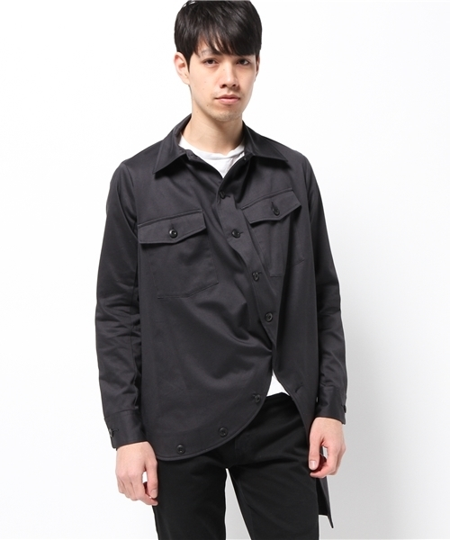 a05d0eece73 ANREALAGE(アンリアレイジ)の「MILITARY BALL SHIRT(シャツ・ブラウス)」 - WEAR