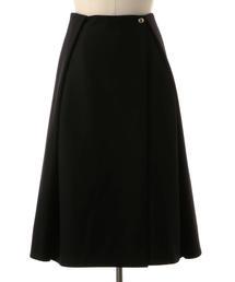 Drawer フランネルラップスカート