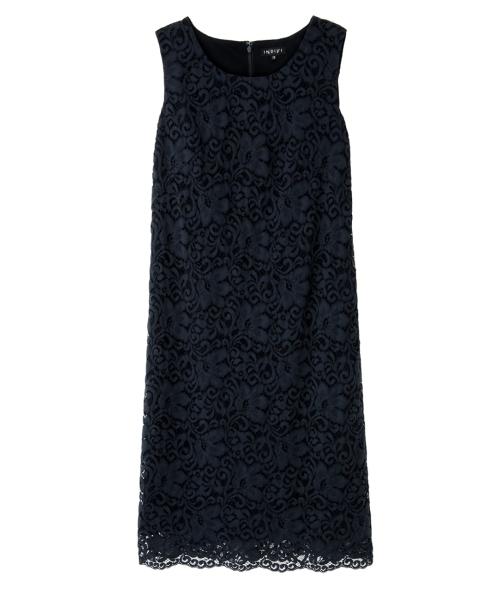 c36d6c3b939c8 INDIVI(インディヴィ)の「 L リリーレース重ねワンピース(ドレス)」 - WEAR