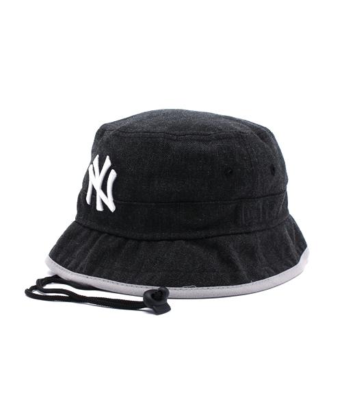 NEW ERA(ニューエラ)の「NEWERA BUCKET HAT STUNT NEW YORK YANKEES BLACK  HEATHER(ハット)」 - WEAR 78cf9e8c8bf7