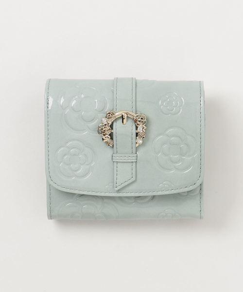super popular 4d00e 56cc8 CLATHAS(クレイサス)の「ブリオッシュ 2つ折り財布(財布 ...