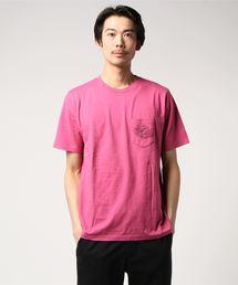 HG-TROPIC FM プリント ポケ付Tシャツ