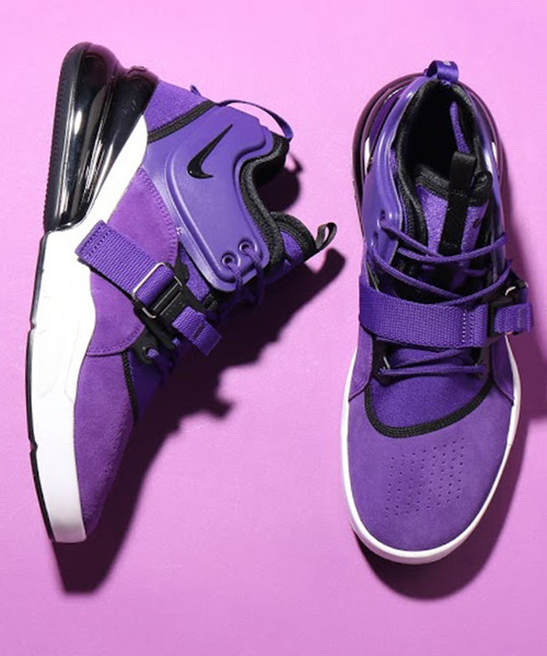 19508c9e66 NIKE(ナイキ)の「NIKE AIR FORCE 270 QS PRPL (COURT PURPLE/BLACK-WHITE)【SP】(スニーカー)」  - WEAR