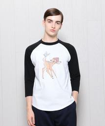 <South for F>BAMBI BASEBALL T-SHIRT/Tシャツ