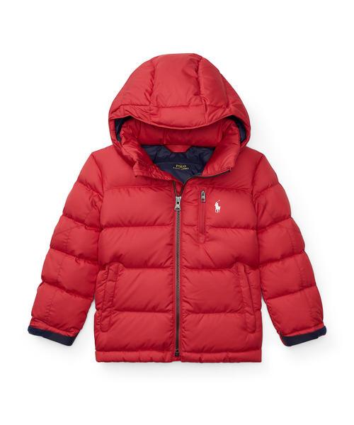 1482f946ed0b6 Polo Ralph Lauren Childrenswear(ポロ キッズ)の「キルテッド リップストップ ダウン ジャケット(ダウンジャケット  コート)」 - WEAR