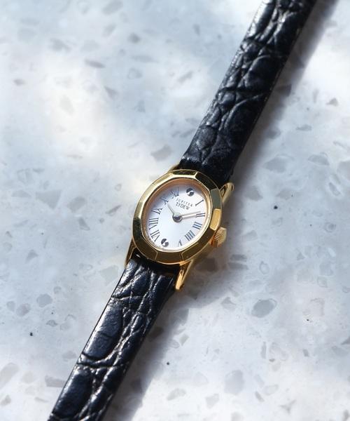 15e1c24b0189 JUPITER(ジュピター)の「radiationウォッチ(ブラックレザークロコ型押し)(腕時計)」 - WEAR