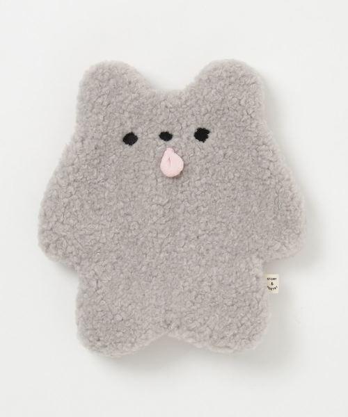 andsome アンサム の pelo bear ポーチm grey ポーチ wear