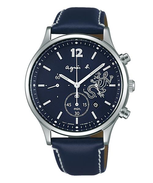 f9c5551af0 アニエスベー)の「agnes b. HOMME アニエスベー レザール ソーラー クロノグラフ メンズ(腕時計)」 - WEAR