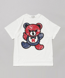 BANDANA BEAR pt 半袖Tシャツ 【L】