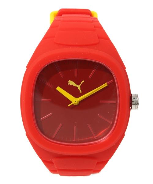 wholesale dealer efc6d fa604 PUMA(プーマ)の「バブルガム L - PUMA TIME(腕時計)」 - WEAR