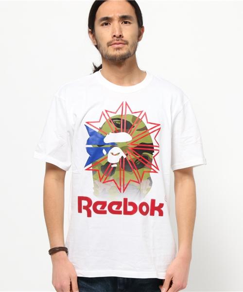 24e66371b A BATHING APE,【BAPE × Reebok】BAPE X Reebok TEE 02 - WEAR