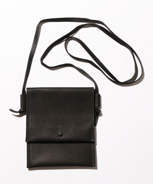 <hobo> COW LTR NECK POUCH/ポーチ □□