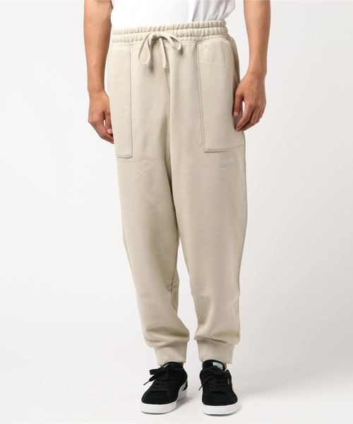 Heavy Classics Sweat Pants Beige Puma
