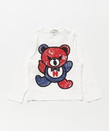 BANDANA BEAR pt Tシャツ 【XS/S/M】