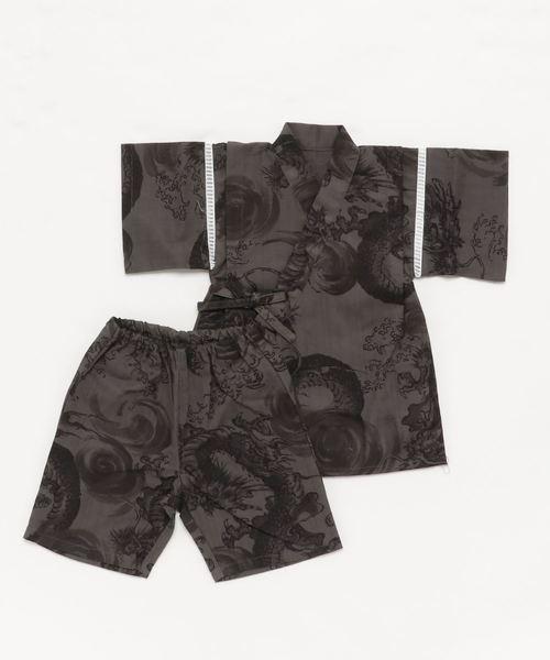 """쿨 일본 무늬 진베이(여름에 입는 남자 덧옷) BOY""""S"""