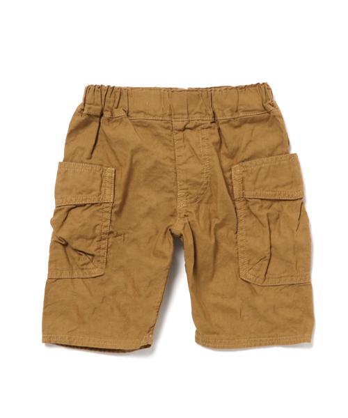 丈?yj&:`/9f_jippon的「サイドシームレス6分丈カーゴパンツ (80~140cm)(休闲短裤