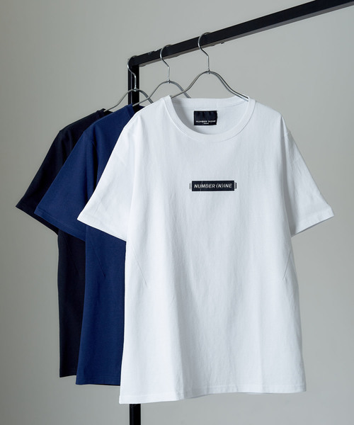 【NUMBER (N)INE DENIM】스코어 라인 로고 티셔츠