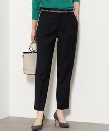 [洗濯可能]◆D TR タック ベルト パンツ