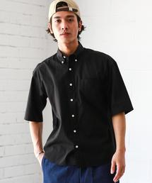 CM OX BIG/S ボタンダウン-N S/S 半袖 シャツ