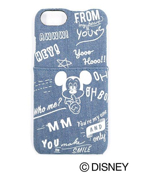 e7fa8b7162 Disney(ディズニー)の「【WEB限定】Disney ミッキーマウス/カリグラフィーiPhoneケース(モバイルケース/カバー)」 - WEAR