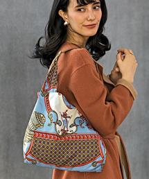 [ブーレ]bourree NFC スカーフ 2WAYバッグ