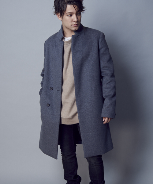 brand quality top-rated original best service ALLSAINTS(オールセインツ)の「DOWTH COAT | ウールコート ...