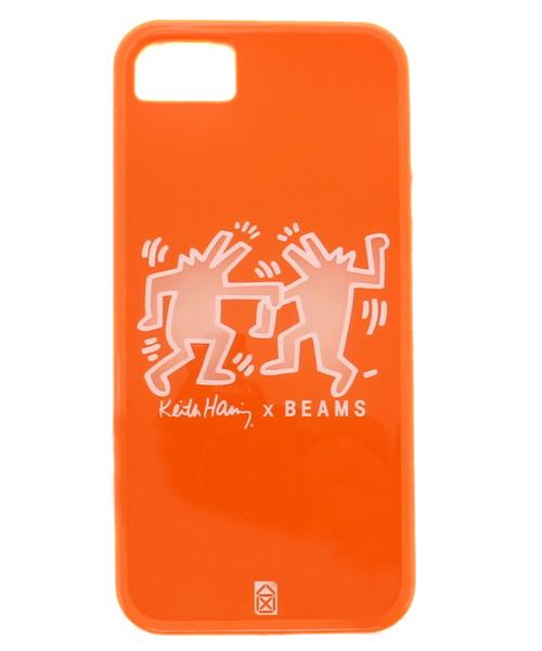 e01e904ab4 bpr BEAMS(ビーピーアール ビームス)の「◎Keith Haring ×BEAMS / iPhone5sケース オレンジ(モバイルケース/カバー)」  - WEAR