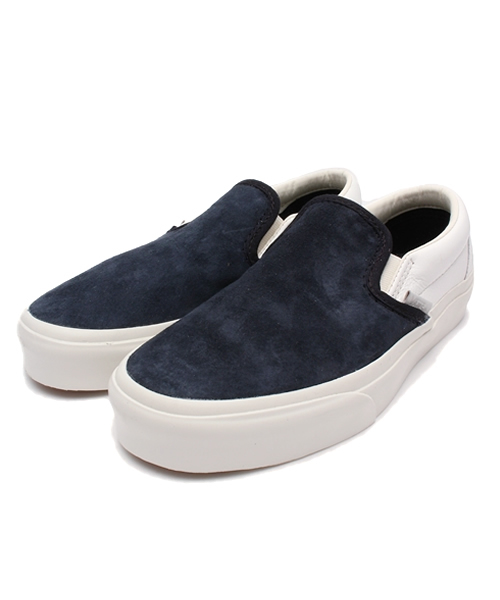 1b4f986d19 「VANS ヴァンズ VN000IL5GKV CLASSIC SLIP-ON CA (SCOTCHGARD)BLUE GRAPHITE」