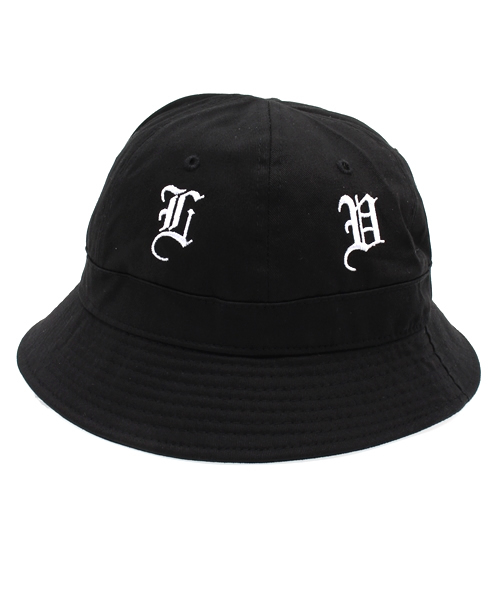 ONSPOTZ(オンスポッツ)の「BLACK SCALE BUCKET HAT OLDE ENGLISH BLACK ... 0a384711a176