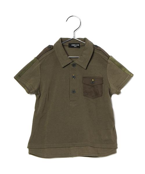 � (140cm〜150cm) �ロシャツ コムサイズムキッズ (COMME CA ISM)