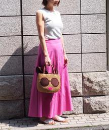 【WEB限定】◎JCIT キリカエ フレア マキシスカート / ロングスカート