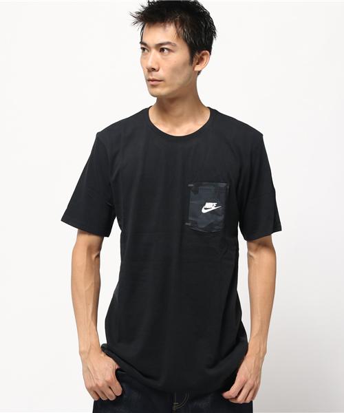 9501d2b185968 NIKE(ナイキ)の「NIKE / DROP HEM POCKET TEE(Tシャツ・カットソー)」 - WEAR