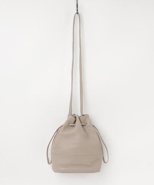 085292b68c0f Beau're(ヴュレ)の「【Beau're】ヴュレ 本革ポーチ付き巾着バッグ(ショルダーバッグ)」 - WEAR