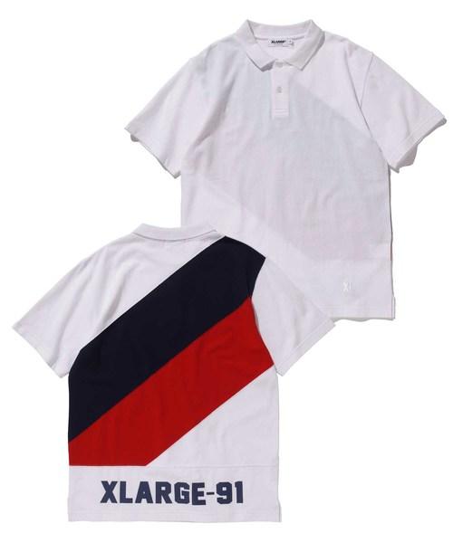 2f1873ab62c54 XLARGE(エクストララージ)の「S/S PANELED POLO SHIRT(ポロシャツ)」 - WEAR