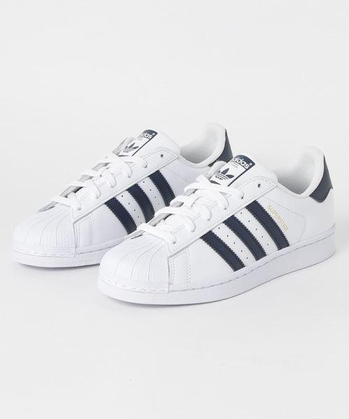 sports shoes a2647 a02c1 adidas(アディダス)の「adidas アディダス SUPERSTAR スーパー ...