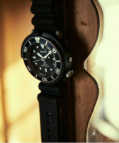 【別注】 <SEIKO(セイコー)> DIVERWATCH NAVY/腕時計