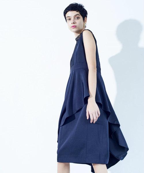 e784601458208 LADYMADE(レディメイド)の「アシメスカートレイヤードドレス(オケージョン)(ワンピース)」 - WEAR