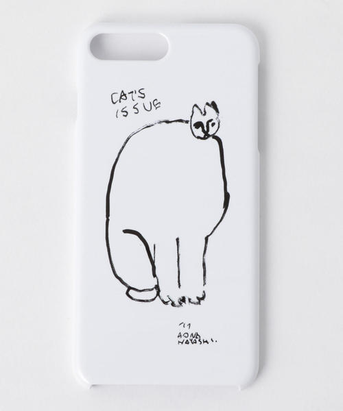 <Cat's ISSUE>IPHONE7plus ケース/AONA HAYASHI Ψ