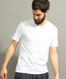 BY COOLMAX Vネック Tシャツ ◆