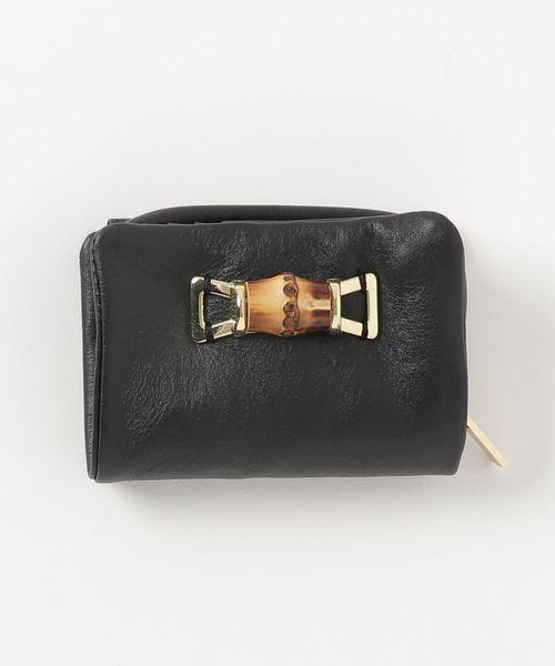 b5af8f77cd26 PAPILLONNER(パピヨネ)の「バンブー折財布(財布)」 - WEAR