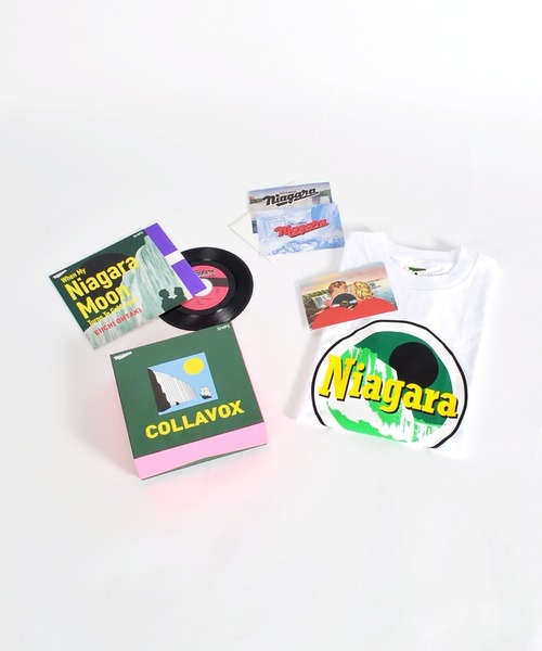 오오타키영1『나이아가라・문이 또한 빛나면』NIAGARA x SHIPS COLLAVOX 7inch 싱글 레코드 박스 세트■