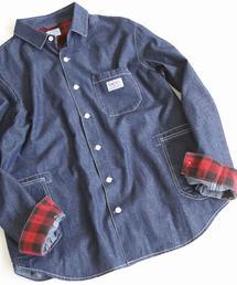 SMITH別注デニムワークシャツ18FW