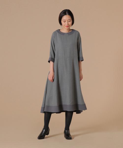 711f4ef7b53f7 conges payes ADIEU TRISTESSE(コンジェ ペイエ アデュートリステス)の「フレアスカートワンピース(ドレス)」 - WEAR