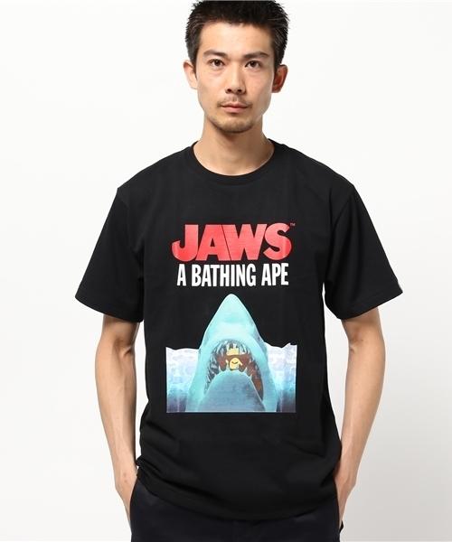 6e8f43be0 A BATHING APE,【A BATHING APE x JAWS】JAWS TEE 01 - WEAR